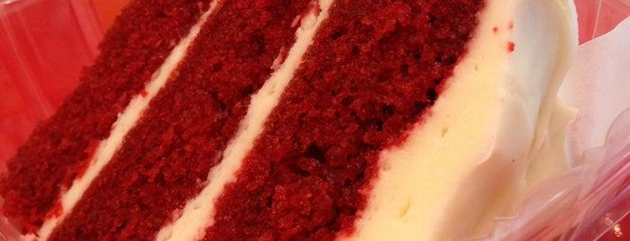 Piece of Velvet is one of bucket list - dessert shop.