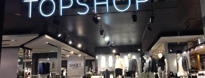 Topshop is one of Bail's Liked Places.