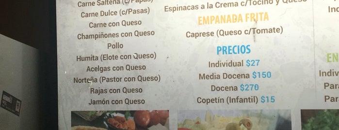 Todo empanadas is one of Tempat yang Disimpan Esmeralda.