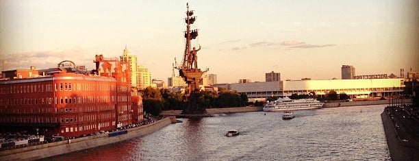 Moskva River is one of MosKoW.