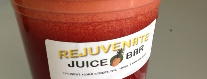 Rejuvenate is one of Juice Bars NY.