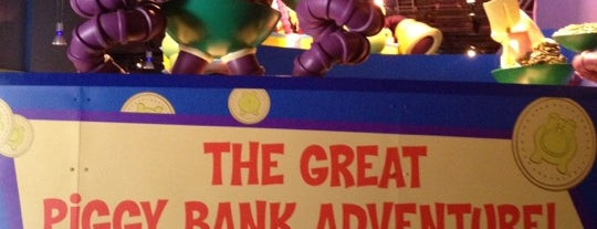 The Great Piggy Bank Adventure is one of ATS TRAVEL FL  EPCOT.