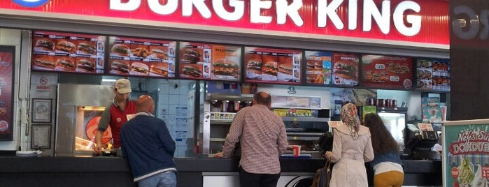 Burger King is one of Orte, die Barış gefallen.