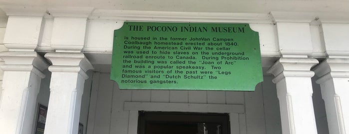 Pocono Indian Museum is one of Orte, die Jeeleighanne gefallen.