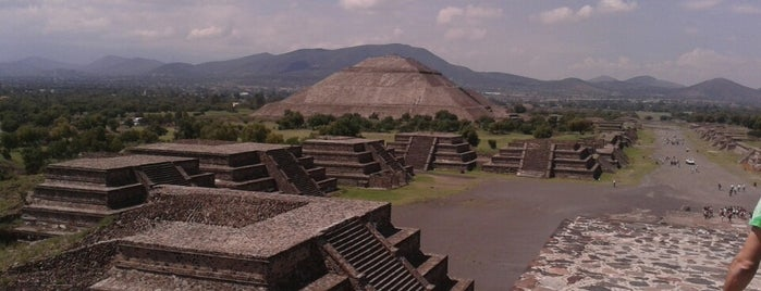 Teotihuacan México is one of Lieux qui ont plu à Marco.
