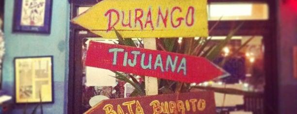 Baja Burrito is one of 40 Must-Try Burritos.