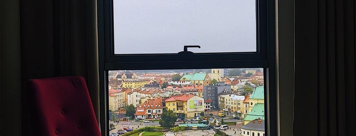 Hotel Rzeszów is one of Lugares favoritos de Yanina.