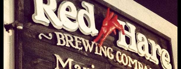 Red Hare Brewing Company is one of Tempat yang Disimpan Joy.