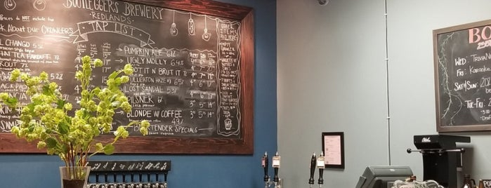 Bootlegger's Brewery Redlands is one of CA Inland Empire Breweries.