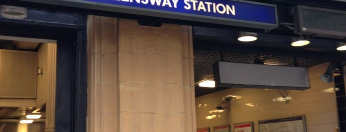 Queensway London Underground Station is one of Stuff I want to see and redo in London.
