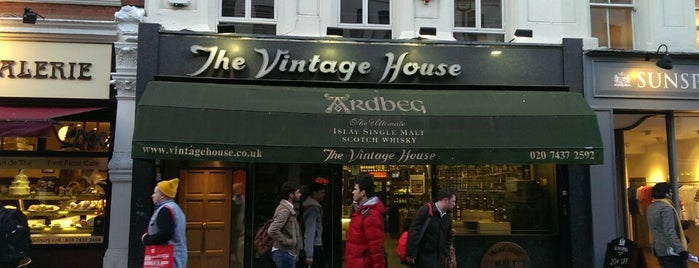 The Vintage House is one of London to do's.