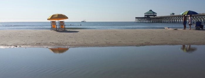 Folly Beach is one of Charleston Tourism.