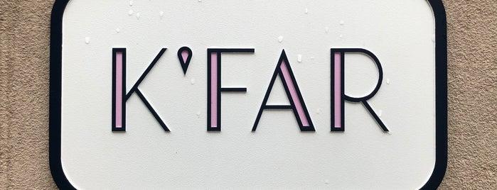 K'Far is one of Posti salvati di Rachel.