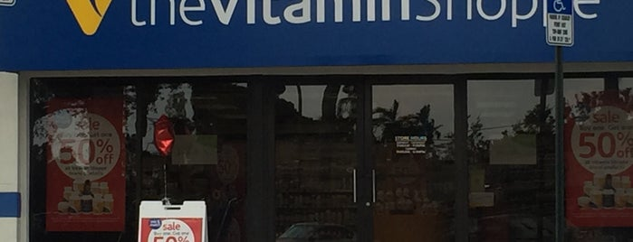 The Vitamin Shoppe is one of Lugares favoritos de Tammy.