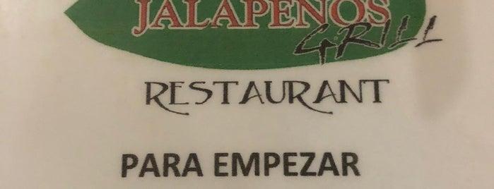 Jalapeños Grill is one of Por visitar.