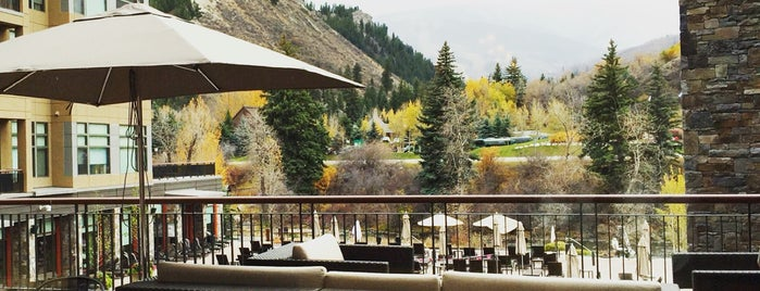 The Westin Riverfront Resort & Spa at Beaver Creek Mountain is one of Lugares guardados de ★ Ju.