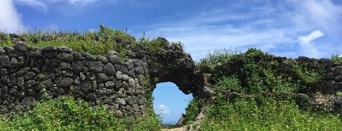 玉城城跡 is one of Okinawa.