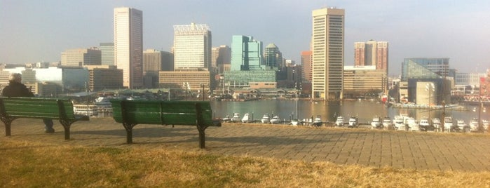 Federal Hill Park is one of The Great Baltimore Check In 2012.