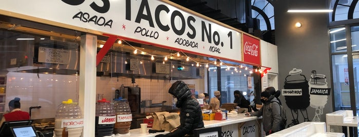 Los Tacos No. 1 is one of Lunch Spots.