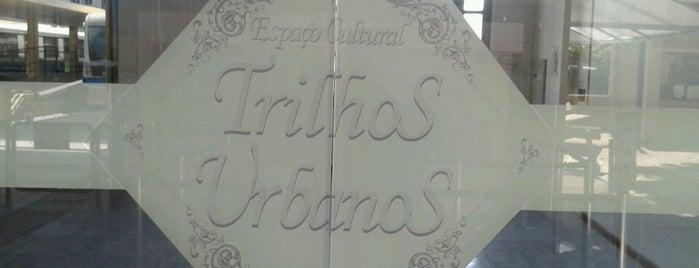 Espaço Cultural Trilhos Urbanos is one of สถานที่ที่บันทึกไว้ของ Fabio.