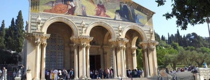 Church Of All Nations is one of Holyland Tour.