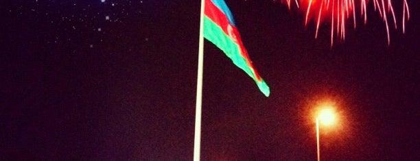 Dövlət Bayrağı Meydanı | National Flag Square is one of Favorite places.