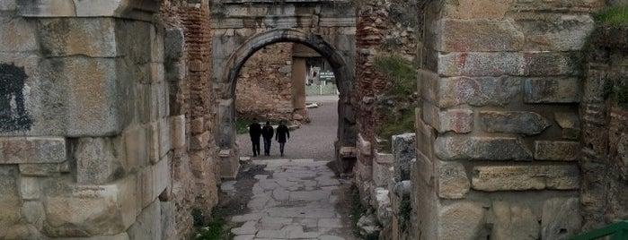 Lefke Kapı is one of İznik.