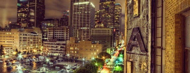 Downtown Los Angeles is one of LA.