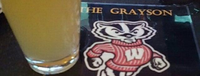 The Grayson is one of Ales N' Apps Week Presented by CBS New York.