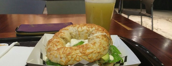 Karma Bagels is one of Resta DF.