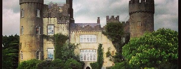 Malahide Castle is one of Gordin's Guide to Ireland.