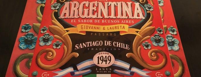 La Argentina Pizzería is one of Tempat yang Disukai Mauricio.