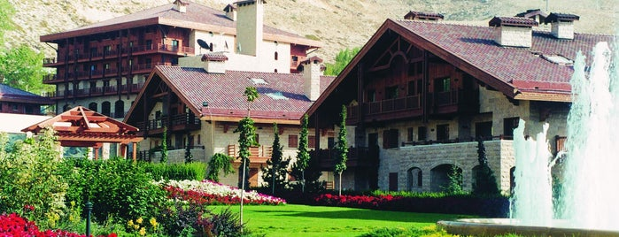 InterContinental Faraya Mzaar Lebanon Mountain Resort & Spa is one of Where I've Slept 2019.