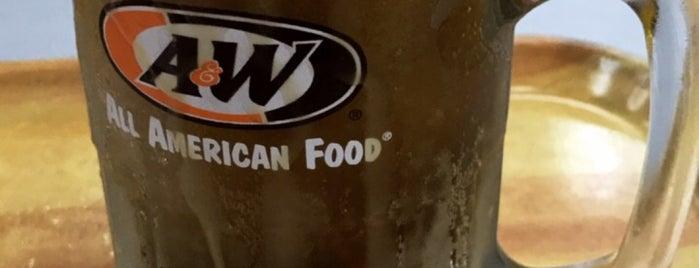 A&W is one of Tempat yang Disukai Chew.