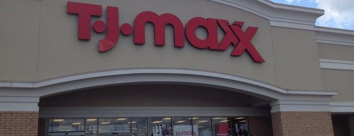 T.J. Maxx is one of Lieux qui ont plu à Deem.