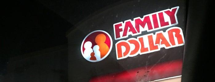 Family Dollar is one of Locais curtidos por Andrea.