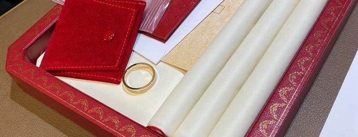 Cartier is one of Lieux qui ont plu à Adrian.
