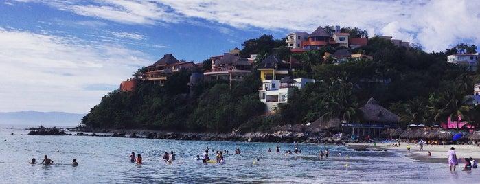 Playa Manzanilla is one of Tempat yang Disukai Abraham.