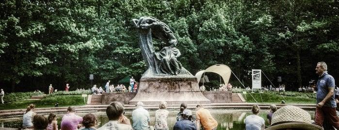 Pomnik Chopina is one of Locais curtidos por Alex.