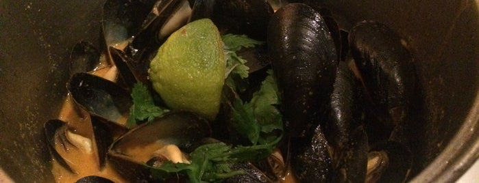 Flex Mussels is one of NYC/MHTN: American.