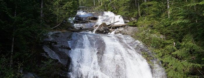 Otter & Big Creek Falls is one of Camping/Hiking in Western Washington.