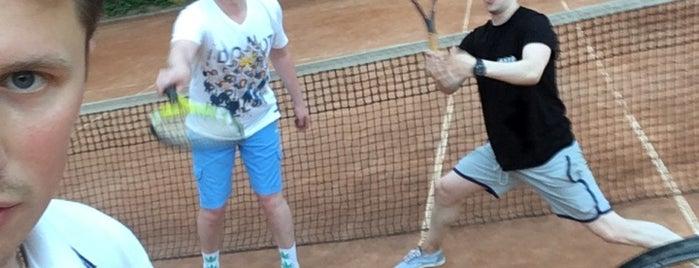 Теннисный клуб «На Ленинском» | Школа тенниса «Триумф» is one of Julia : понравившиеся места.