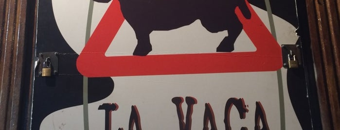 La Vaca Austera is one of Salir por Madrid.