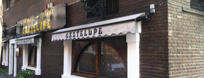 Gaztelupe is one of Comer en Madrid.
