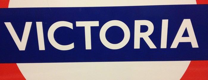 Victoria London Underground Station is one of United Kingdom.