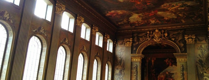 Painted Hall is one of Greenwich and Docklands; London.