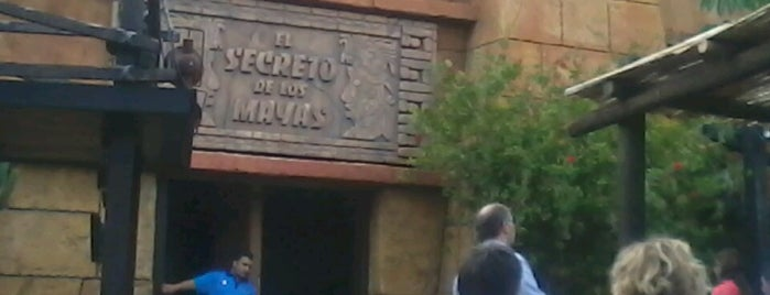 El Secreto de Los Mayas is one of PortAventura.