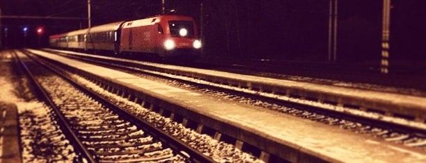 Železniční stanice Rybník is one of Lugares favoritos de Daniel.