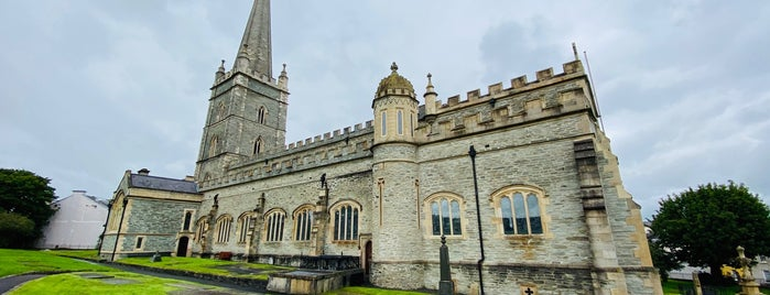 St Columb's Cathedral is one of Holiday Destinations 🗺.