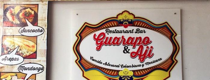 Restaurant Bar Guarapo y Aji is one of Guanajuato.